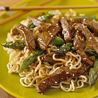 Sesame Beef and Asparagus Stir-Fry (via Parents.com)
