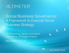 Social Business Governance