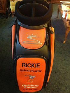8fc0ef5c234 Rickie Fowler Custon Staff Bag - Brand New - Perfect Condition