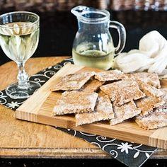 Feta Quinoa Crackers - gluten-free by suzanneper