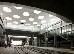 Hillie Metro Station in Malmo, Sweden