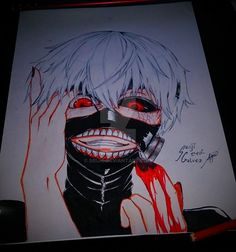 my Kaneki Ken Fan Art by seiji0.deviantart.com on @DeviantArt