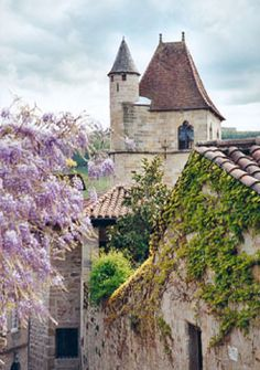 Figeac, France - a commune in the south-western part of France. The spot is a part of the 'Way St. James' a major spot on the pilgrimage trail.