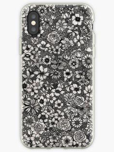 'Floral Design' iPhone Case by Rockyvillaruel Dyi Phone Case, 5sos Phone Case, Corgi Phone Case, Tumblr Phone Case, Decoden Phone Case, Disney Phone Cases, Iphone Case Covers, Moschino Phone Case, Disney Alphabet