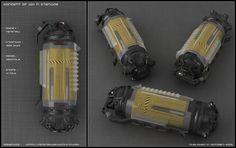 Sci-fi Grenade concept by peterku.deviantart.com on @DeviantArt