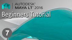 Maya 2016 Beginners tutorial Pt - 7  Sculpting Meshes