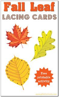 Actividades para Educación Infantil: Cosemos hojas