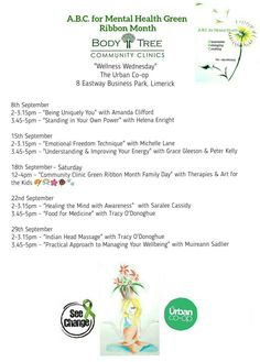 Green Ribbon, Family Day, Mindfulness, Healing, Consciousness