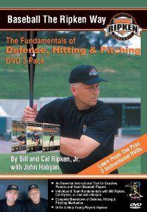 Amazon.com: Baseball the Ripken Way DVD 3-Pack: Cal Ripken Jr., Billy Ripken: Movies & TV