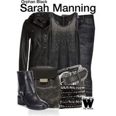 Inspired by Tatiana Maslany as Sarah Manning on Orphan Black. I love her style.