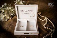 pracownia wycinanki: Pudełko na obrączki / Box for wedding rings