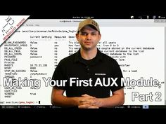 Making Your First AUX Module, Part 2 - Metasploit Minute - YouTube