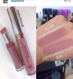 JordanA matte blush dupe for ABH purehollywood