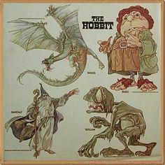 #hobbit #bilbo #smaug #gandalf #gollum #tolkein #drawing #movie #cartoon #baggins #lotr #lord of the rings