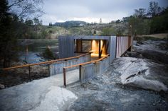 Puente Høse by Rintala Eggertsson Architects (Suldal, Noruega) #architecture