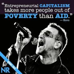 Bono speaks truth! National Review, Speak The Truth, Second Anniversary, Wall Street, Core, Two Year Anniversary, Tell The Truth, 2nd Anniversary