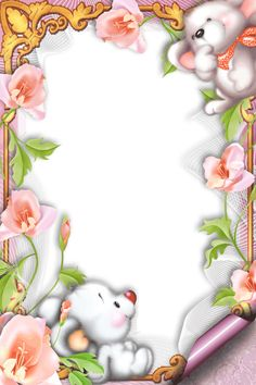 Frame Borders For Paper, Borders And Frames, Easter Wallpaper, Kids Background, Page Borders, Butterfly Frame, Frame Clipart, Writing Paper, Baby Scrapbook