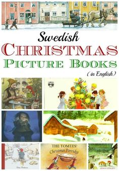 Swedish Christmas and Holiday Picture Books