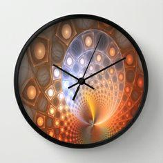 Light Fire Wall Clock by Fine2art - $30.00
