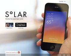 21 Beautiful iPhone and Android App Websites | Inspiration