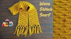 Wave Stitch Scarf - Crochet Tutorial