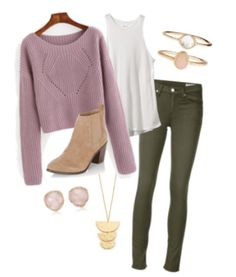 Fall outfit ideas you'll absolutely love! Check out more ideas for keeping warm, comfy and adorable this fall at HerTrack.com!