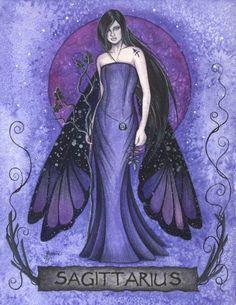 Sagittarius Zodiac Fairy ~ Jessica Galbreth
