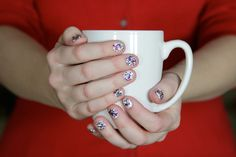 A simple DIY manicure to help add some bling to your new year!