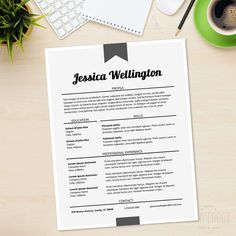 Resume Cover Letter CV Professional Curriculum Vitae by LucaLogos Cv Design, Resume Design, Serious Business, Business Tips, Cv Models, Cv Curriculum Vitae, It Cv, Getting Ready To Move, Move On Up