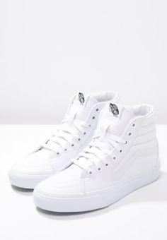 Ein echter Klassiker. Vans SK8 - Sneaker high - true white für 44,95 € (11.11.15) versandkostenfrei bei Zalando bestellen.