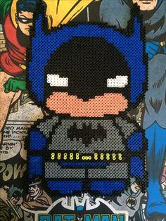 Batman hama beads by Sara Macellari