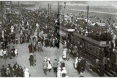 Mumbles Railway - Train in Swansea 1910 - South Wales, UK Swansea Bay, Swansea Wales, South Wales, Wales Uk, Gower Peninsula, Welsh Rugby, Kingdom Of Great Britain, Cymru, Republic Of Ireland