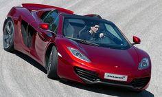 2013 McLaren MP4-12C Spider: 0-60 mph in 3.1 seconds, Max Speed: 204 mph (328 km/h).