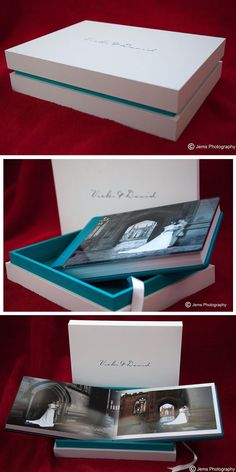 Delicated and fresh combinations of colors made by the English photographer John Fox. The white touch paper highlights the blue detail of the box and the customization.  http://www.graphistudio.com/home
