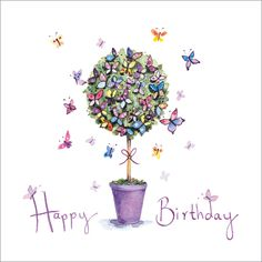 Happy Birthday happy birthday happy birthday wishes happy birthday quotes happy birthday images happy birthday pictures Happy Birthday Pictures, Happy Birthday Messages, Happy Birthday Quotes, Happy Birthday Greetings, Birthday Tree, Birthday Clips, Birthday Fun, Purple Birthday, Butterfly Birthday