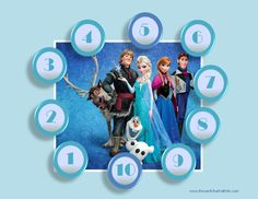 Frozen Printable Sticker Reward Chart