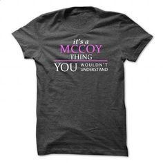 MCCOY_Thing_You Wouldnt Understand! - #sweatshirt you can actually buy #sweater. GET YOURS => https://www.sunfrog.com/Names/MCCOY_Thing_You-Wouldnt-Understand-DarkGrey-Guys.html?68278