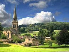 Провинциальные пейзажи. Англия