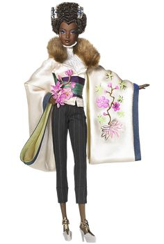 Byron Lars Ayako Jones™ Barbie® Doll - Byron Lars makes the most gorgeous Black Barbies in the world. I want them ALL.