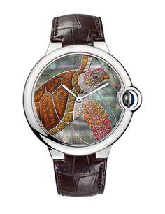 Tortoise watch by Cartier