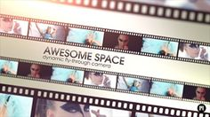 Film Strip Video Wall MOTION 5 TEMPLATE arrived http://motionvfx.com/N1052