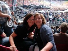 Excited for another great U2 night, me and my sister are fans for life! U2 Amsterdam July 20th 2009