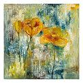 Sunshine Floral Canvas-Triple