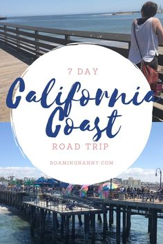 One of the most iconic road trips in the United States is driving route 1 on the California Coast. Here is a 7 day itinerary full of fun and adventure in the Golden State. Visit California, California Coast, California Travel, California Living, Road Trip Map, Road Trip Hacks, Road Trips, Usa Travel Guide, Travel Usa