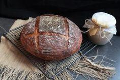 Kváskový chlieb pre začiatočníkov - Chuť od Naty Bread, Vegan, Baking, Food, Brot, Bakken, Essen, Meals, Breads
