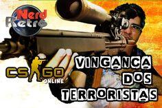 CONTER STRIKE   CS GO  -  PT BR -  gameplay -VINAGANÇA DOS TERRORISTAS  ...