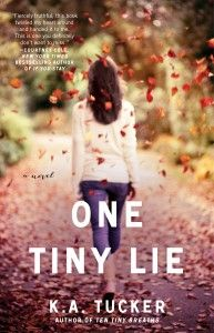 Enter to win a signed set of Ten Tiny Breaths and One Tiny Lie by KA Tucker!