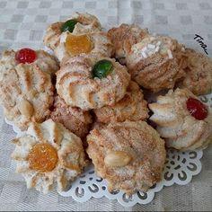 Italian Cake, Italian Cookies, Italian Desserts, Biscotti Cookies, Almond Cookies, Cake Cookies, Italian Biscuits, Italian Pastries, Sicilian Recipes