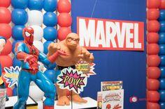 Festas | sorria pra foto Super heróis, homem aranha, marvel, hulk, capitão américa, festa em casa, fotos by FernandaVicentin
