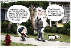 Michael Ramirez Cartoon 01/22/2014 - Foreign Economic Policies